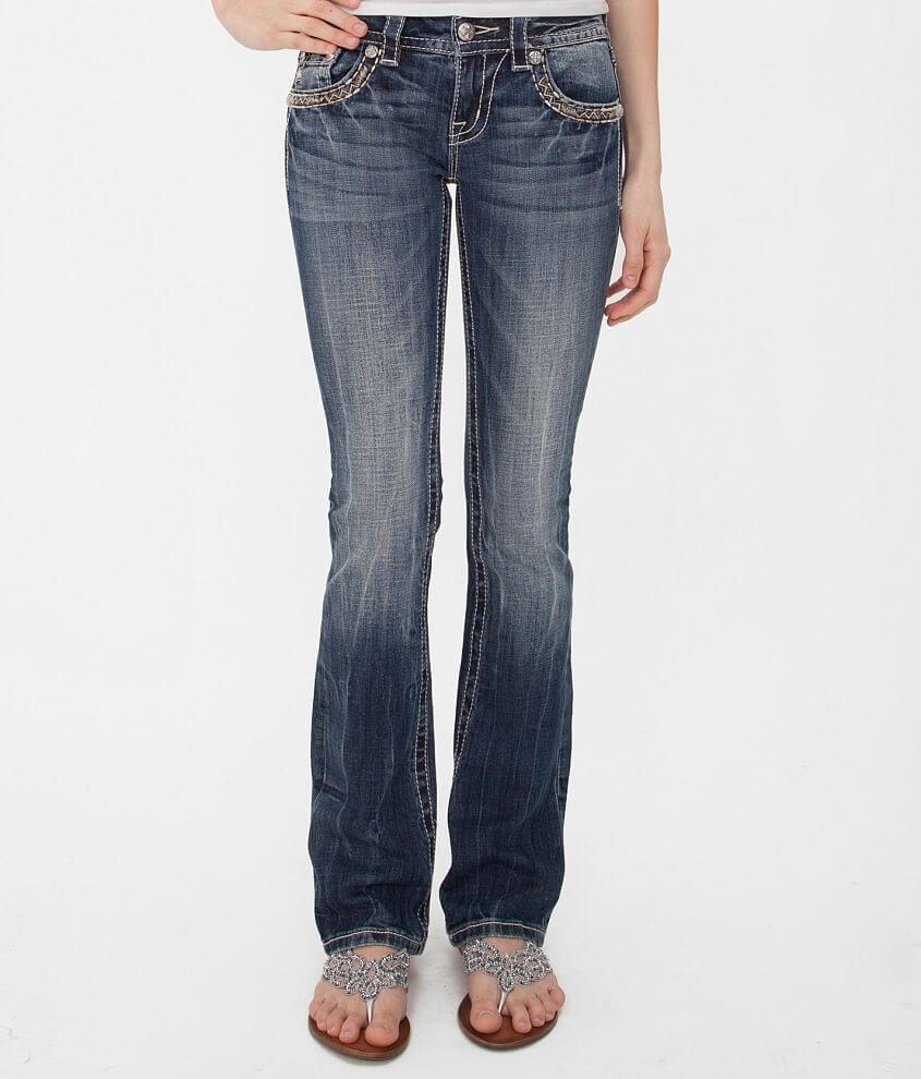 Miss Me Slim Boot Stretch Jean front view