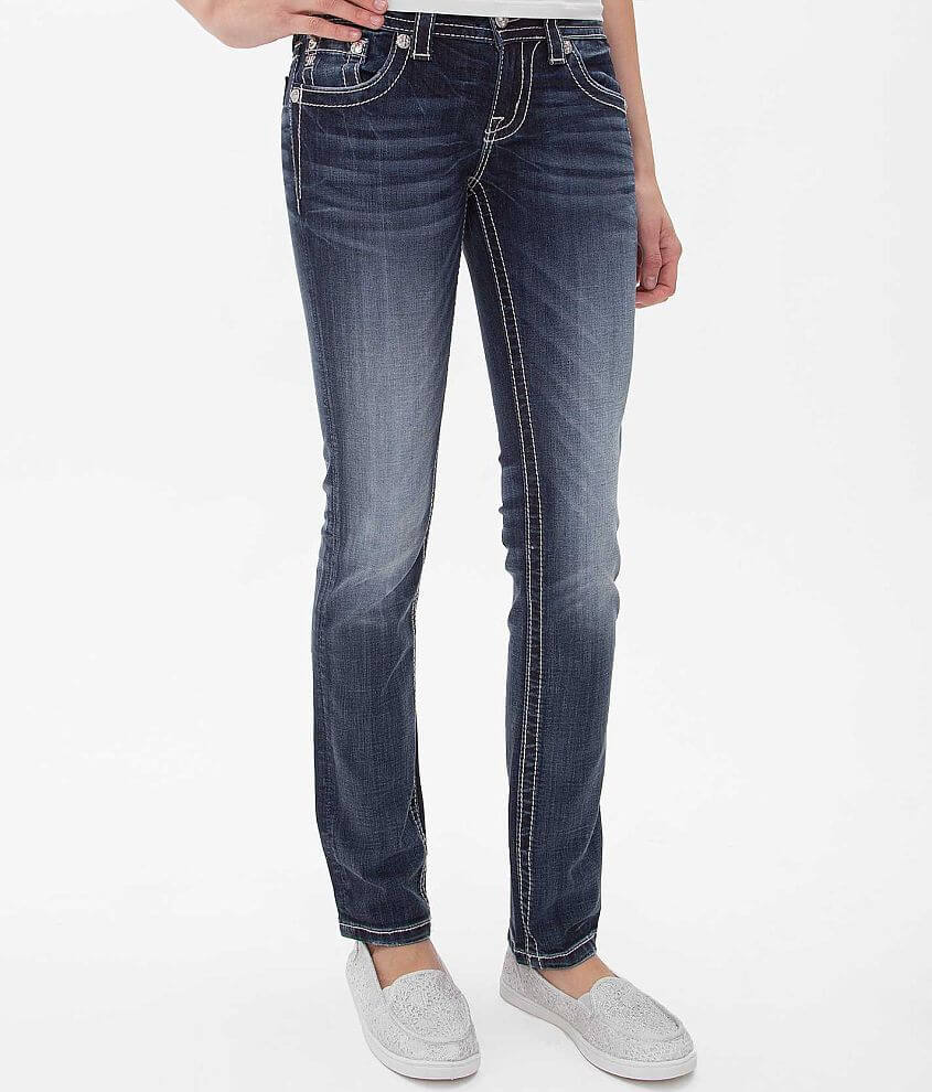 Miss Me Fleur Straight Stretch Jean front view