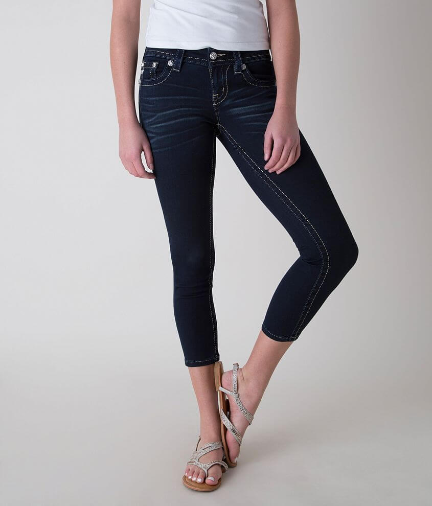 Miss Me Skinny Stretch Cropped Jean front view