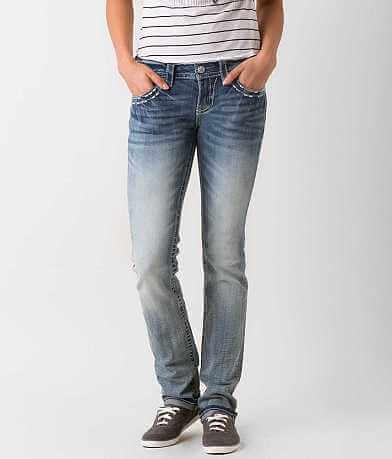 Miss Me Straight Stretch Jean