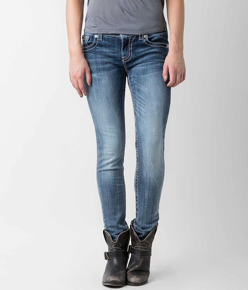 Miss Me Easy Skinny Stretch Jean front view