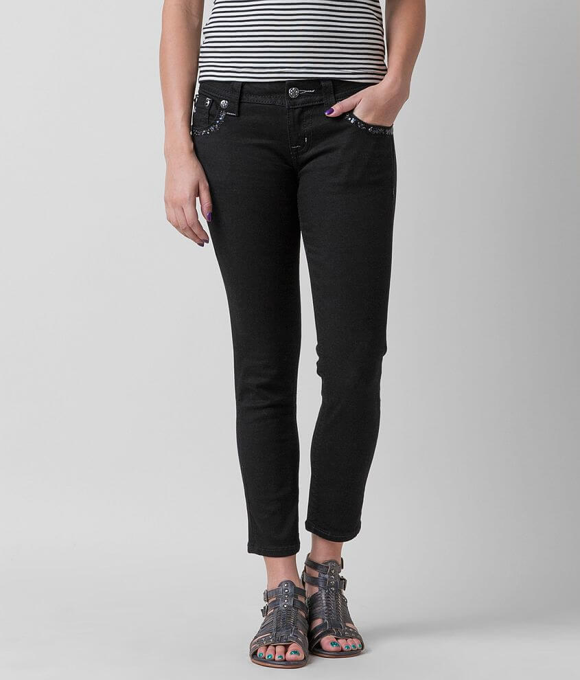 Miss Me Signature Skinny Stretch Cropped Jean front view