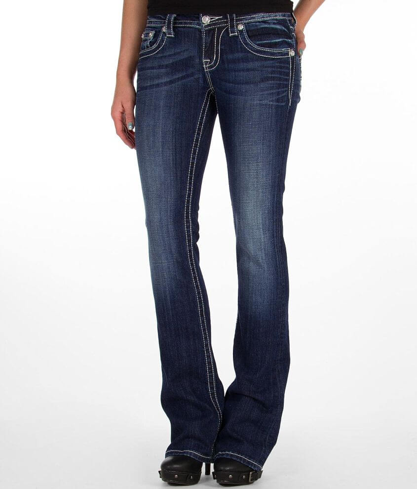 Miss Me Fleur Boot Stretch Jean front view