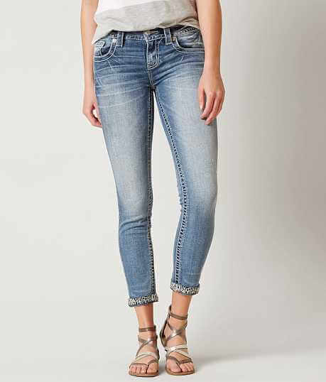 Miss Me Signature Ankle Skinny Stretch Jean - Jeans For Women Buckle