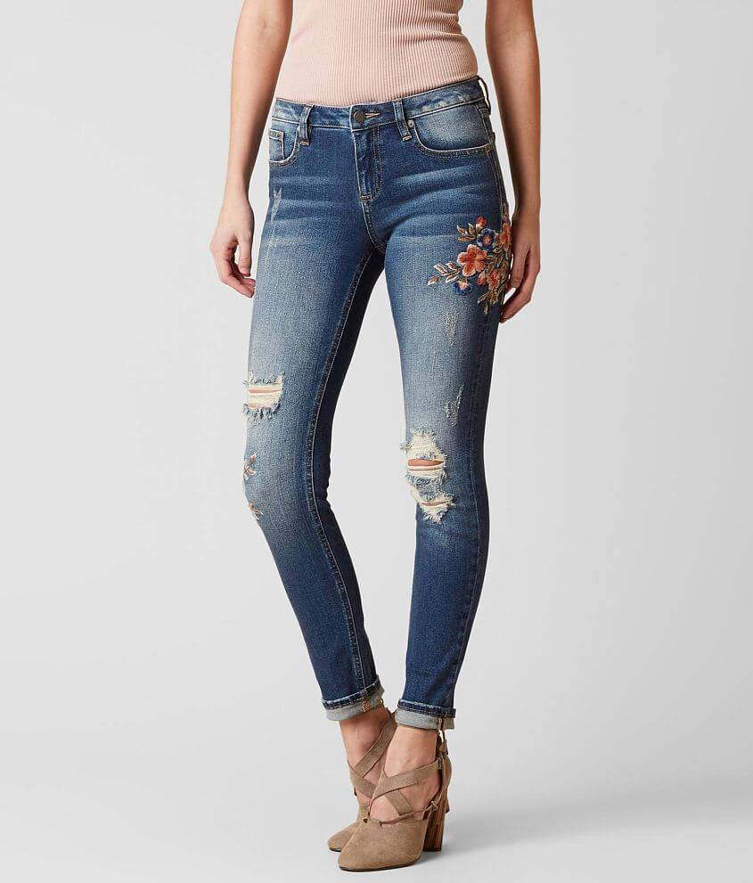 Miss Me Standard Ankle Skinny Stretch Jean front view