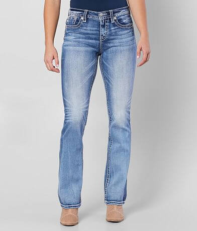 Miss Me Curvy Mid-Rise Boot Stretch Jean