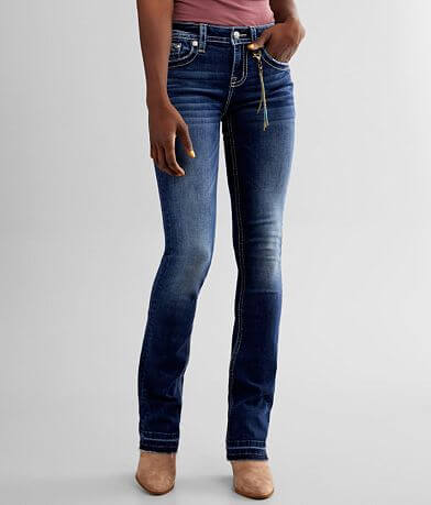 Miss Me Chloe Mid-Rise Slim Boot Stretch Jean