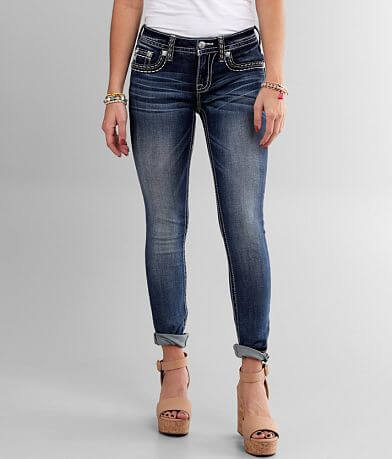 Miss Me Hailey Mid-Rise Skinny Stretch Jean