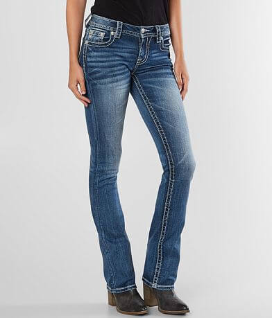 Miss Me Mid-Rise Slim Boot Stretch Jean