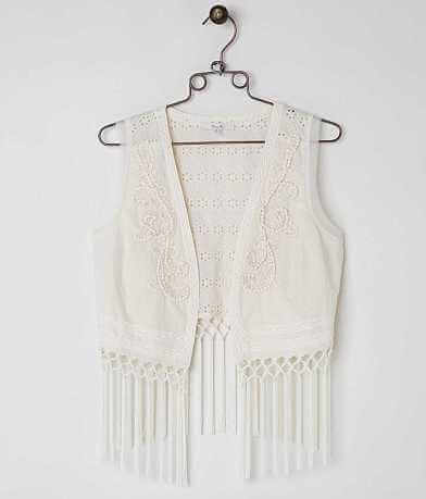 Miss Me Fringe Vest