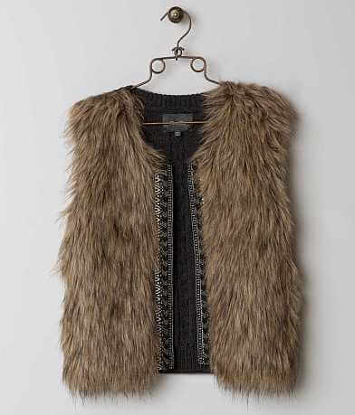 Miss Me Faux Fur Vest