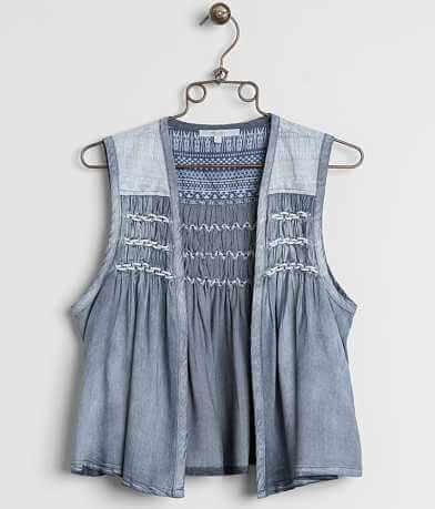 Miss Me Raw Edge Vest
