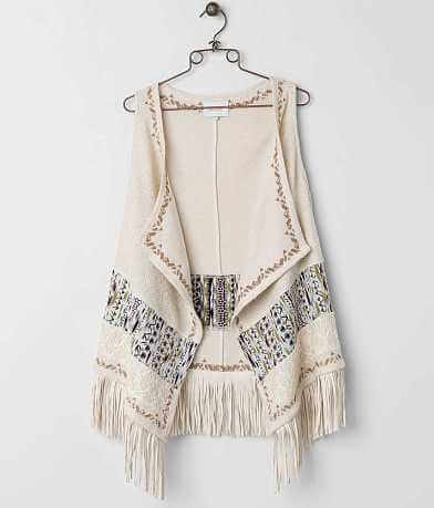 Miss Me Fringe Sweater Vest
