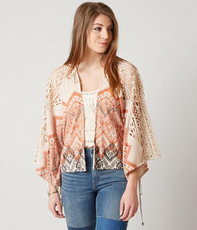 Miss Me Woven Cardigan