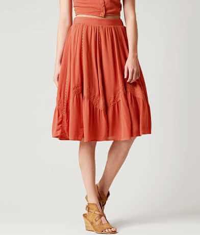 Miss Me Woven Skirt