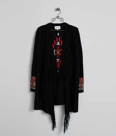 Miss Me Fringe Cardigan Sweater