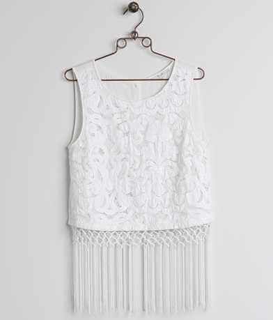 Miss Me Fringe Tank Top