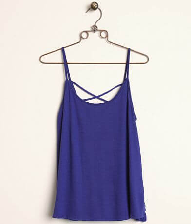 Miss Me Strappy Back Tank Top