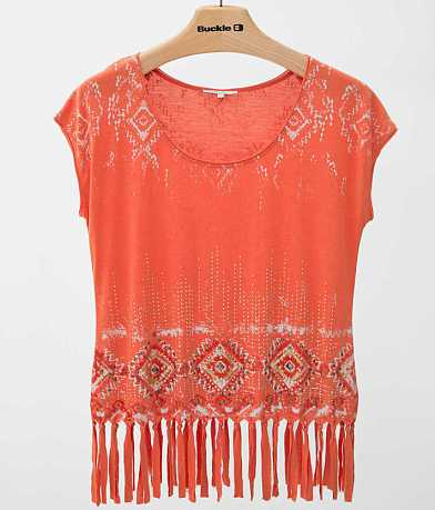 Miss Me Southwestern Top