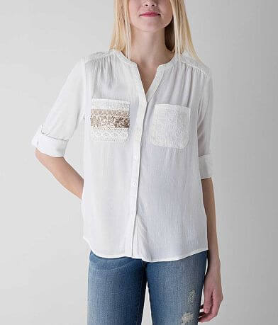 Miss Me Embroidered Shirt