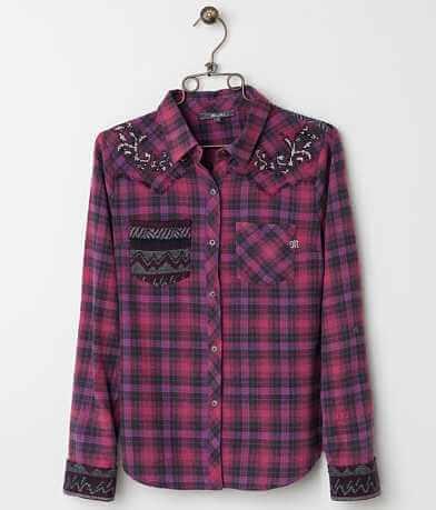 Miss Me Plaid Shirt