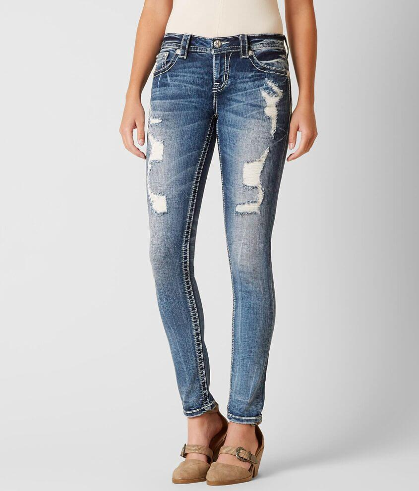 Miss Me Standard Skinny Stretch Jean front view