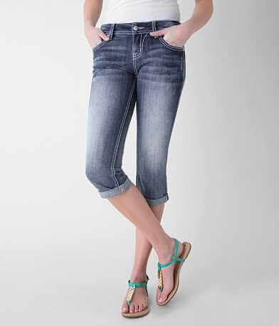 Miss Me Mid-Rise Stretch Cropped Jean