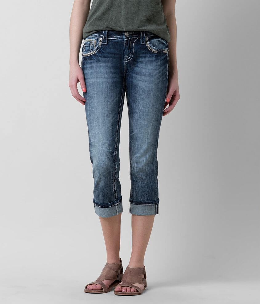 Miss Me Standard Stretch Cropped Jean front view