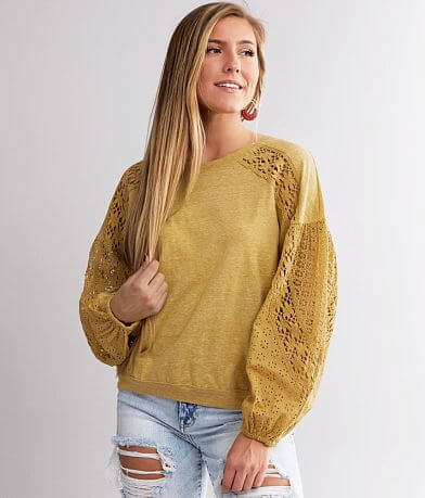 Miss Me Washed Knit Top