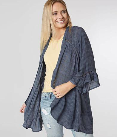 Miss Me Jacquard Kimono