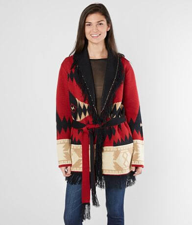 Miss Me Southwestern Cardigan Sweater