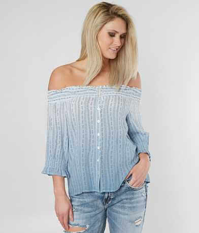 Miss Me Off The Shoulder Top