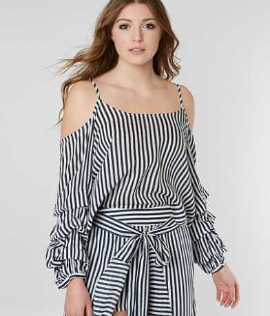 Miss Me Cold Shoulder Top