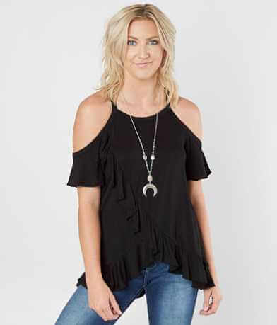 Miss Me Ruffle Top