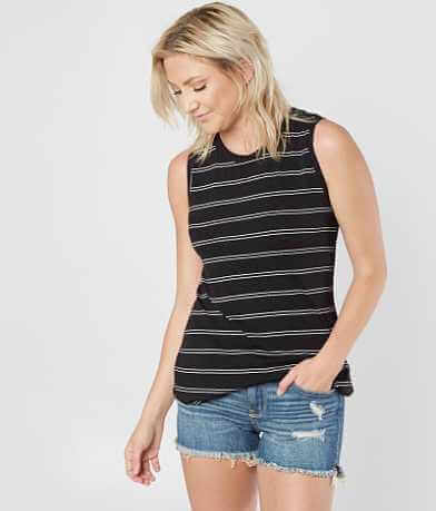 Miss Me Striped Tank Top