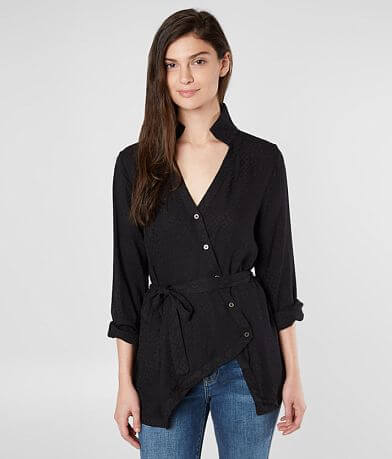 Miss Me Embroidered Blouse