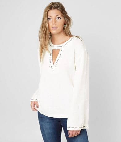 Miss Me Cut-Out Woven Top