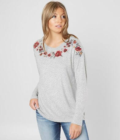 Miss Me Beaded Fleece Top