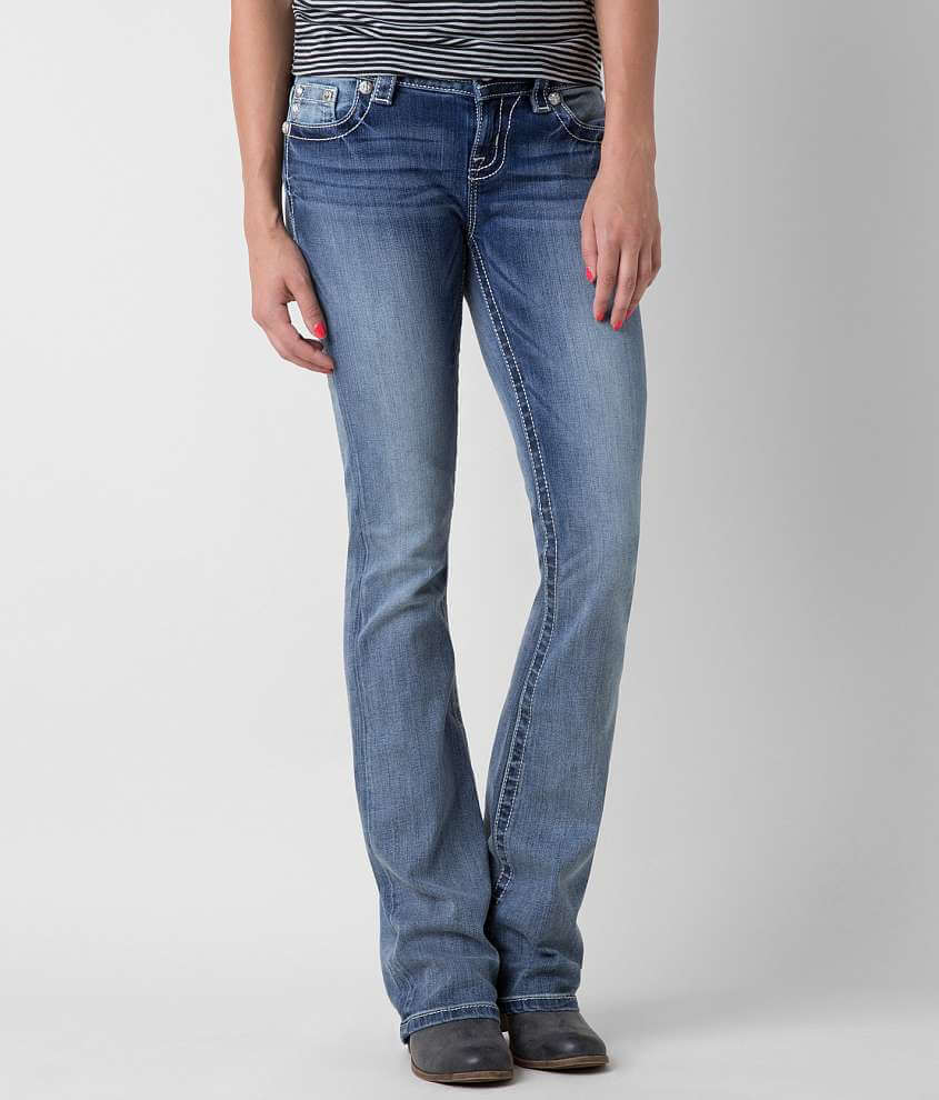 Miss Me Mid-Rise Boot Stretch Jean front view