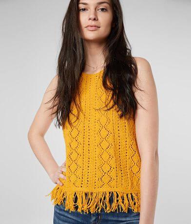 Miss Me Crochet Tank Top
