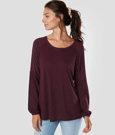 Miss Me Oversized Knit Top