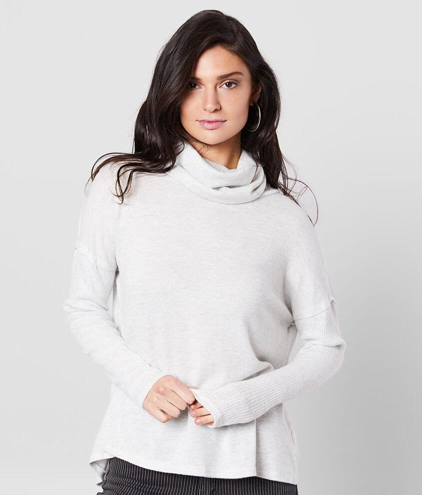 Miss Me Turtleneck Sweater front view