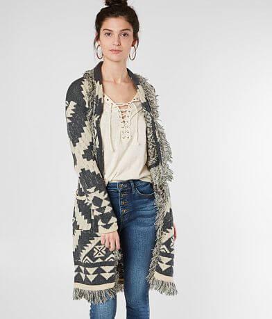 17c3de811d Miss Me Southwestern Cardigan Sweater