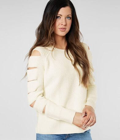 Miss Me Cold Shoulder Sweater