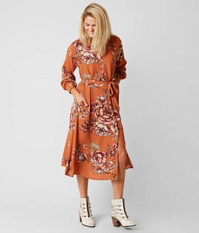 Miss Me Floral Dress