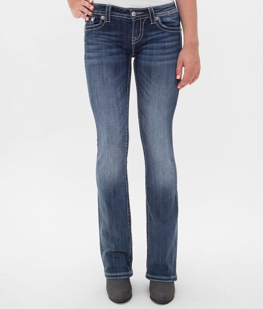 Miss Me Relaxed Boot Stretch Jean front view