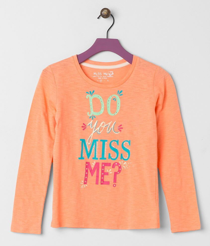Girls - Miss Me Foil Top front view