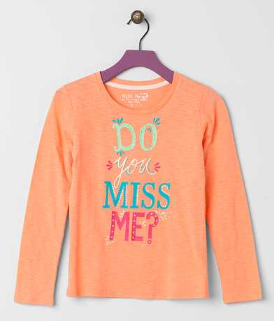 Girls - Miss Me Foil Top
