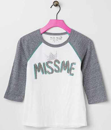 Girls - Miss Me Raglan Sleeve Top