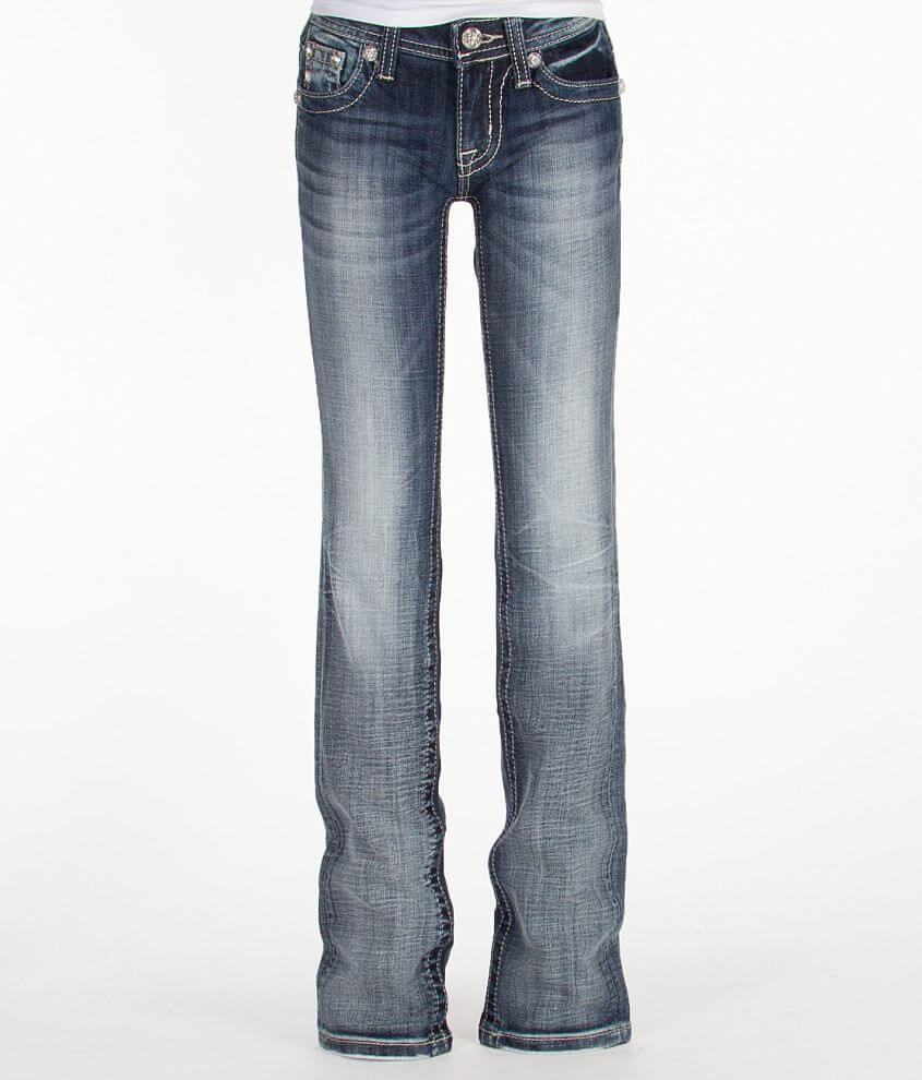 Girls - Miss Me Straight Jean front view